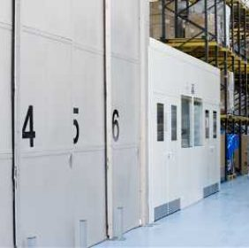 Controlled Storage & Chilled Storage is provided as required